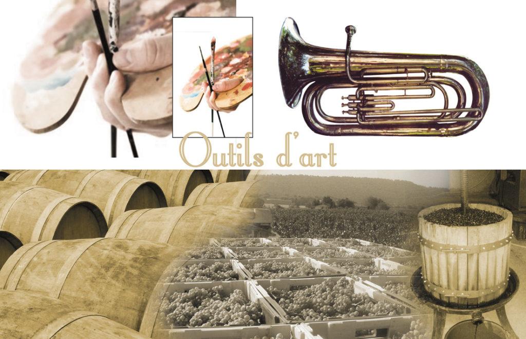 Outils d'art - Le Puy des Arts